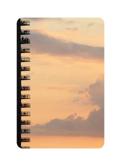 art prints - Spiral Bound Sunset by EL