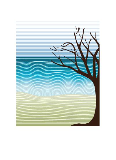 art prints - Quiet Landscape by Sabrina Hoeke