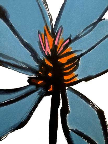 art prints - Blue Magnolia by Deborah Velasquez