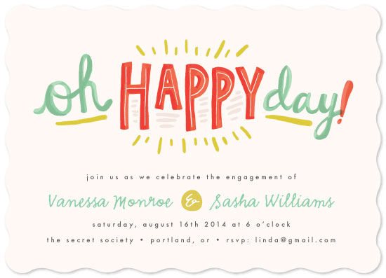 cards - Oh Happy Day by Pistols