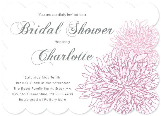 cards - Dahlia Bridal Shower by Nina Hatch