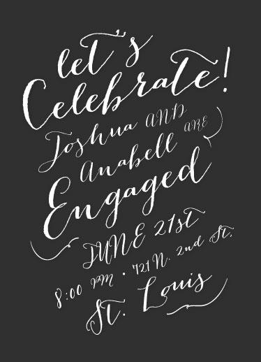 cards - Handwritten Celebration by Heather Eikel