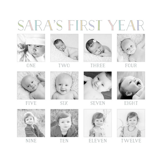 art prints - Baby's First Year by Erin Deegan