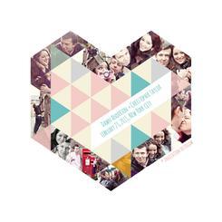 Triangular Mosaic Heart