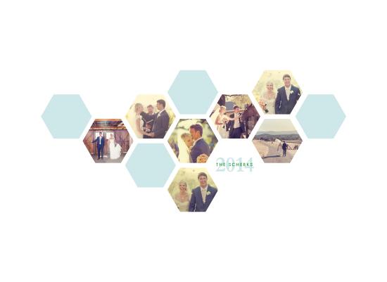 art prints - hexagon cluster by k e n s i e k a t e