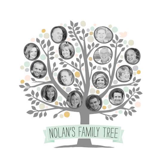 art prints - Precious Family Tree by Jessie Steury