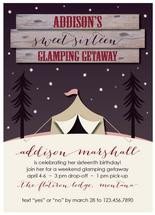 Glamping Getaway by Bluejay Paper