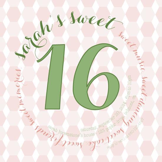cards - Circle of Sweetness Sweet Sixteen by Sarah Tarantino