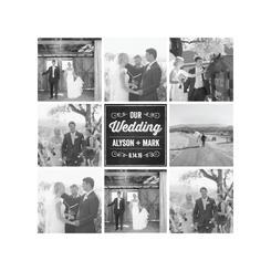 Wedding Chalkboard Album