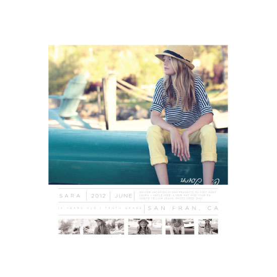 art prints - Time Capsule SNAPSHOT MLTPLE by Kate Capone aka Oh So Suite