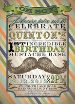 Vintage Mustache Bash by Tara Sturm