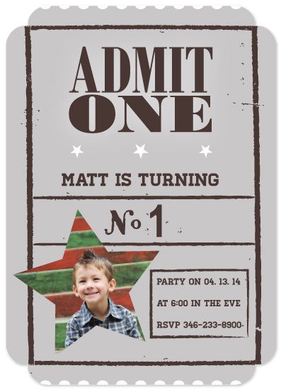 party invitations - Free Admission Party Invite by Adrina Anderson