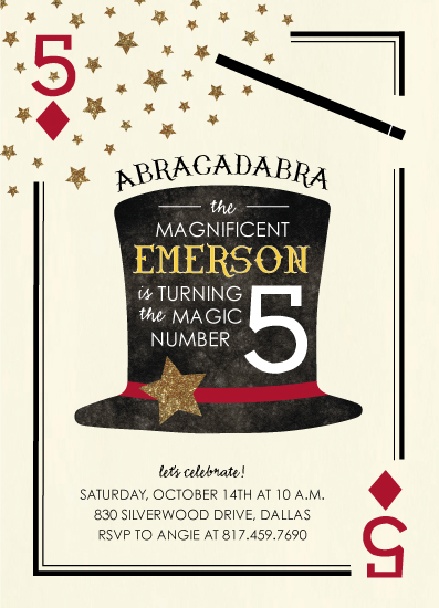 party invitations - Abracadabra by Anna Sheehan
