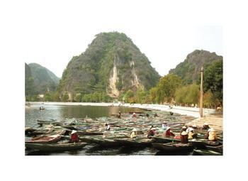 Boaters In Hanoi