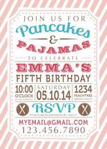 Pancakes & Pajamas Birt... by Bluejay Paper