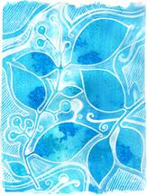 Blue nature by Marcella Bingham