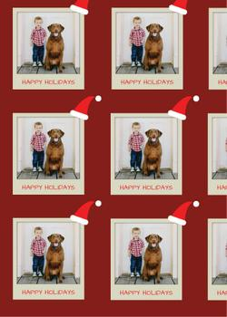 Polaroid Holiday Wrap
