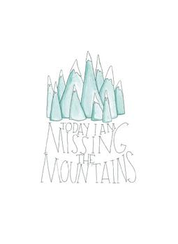 Missing the Mountains