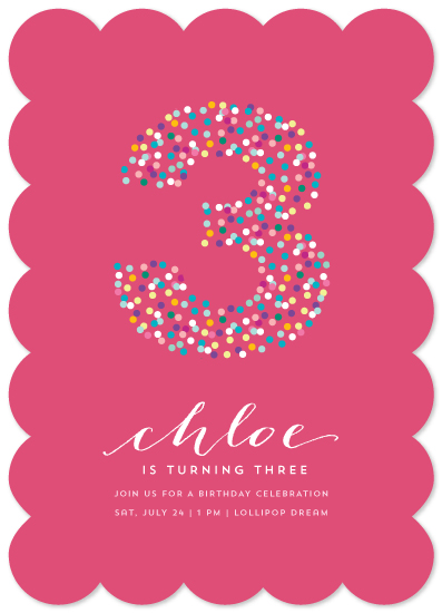 party invitations - nonpareil by Guess What Design Studio