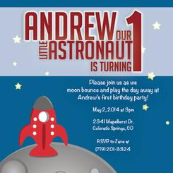 Astronaut Bounce Party