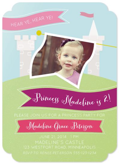 party invitations - A Celebration Fit For A Castle by Lacie Cunningham