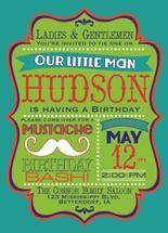 Little Man Mustache Bas... by Meghan Purcell