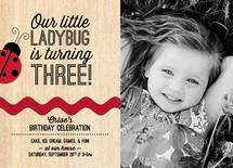 Celebrating Our Ladybug by Charm Design Studio