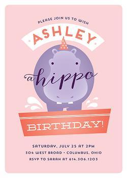 Hippo Birthday