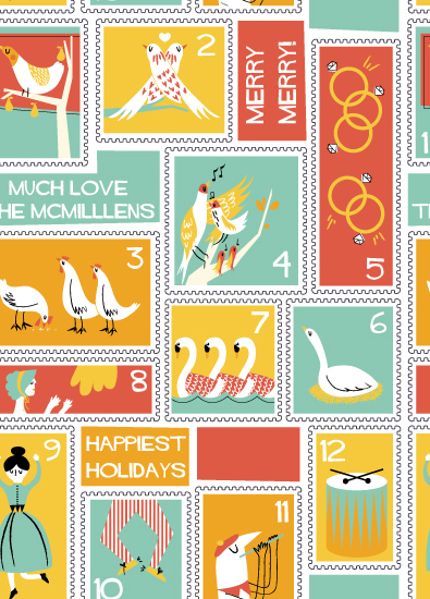 gift wrap - 12 Days by Kayla King
