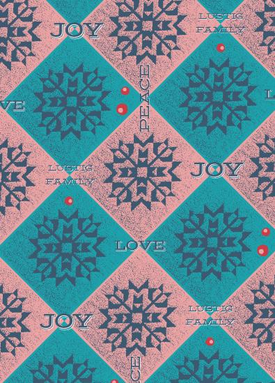 gift wrap - vintage_snowflakes by Tereza Šašinková Lukášová