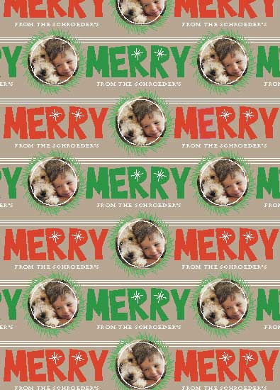 gift wrap - All Merry & Bright by MJ