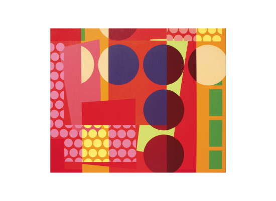 art prints - Red Intersections by Russ Horvath