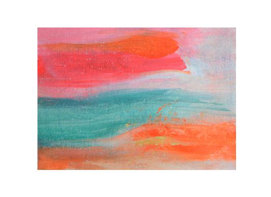art prints - Neon Seascape by Lindsay Megahed