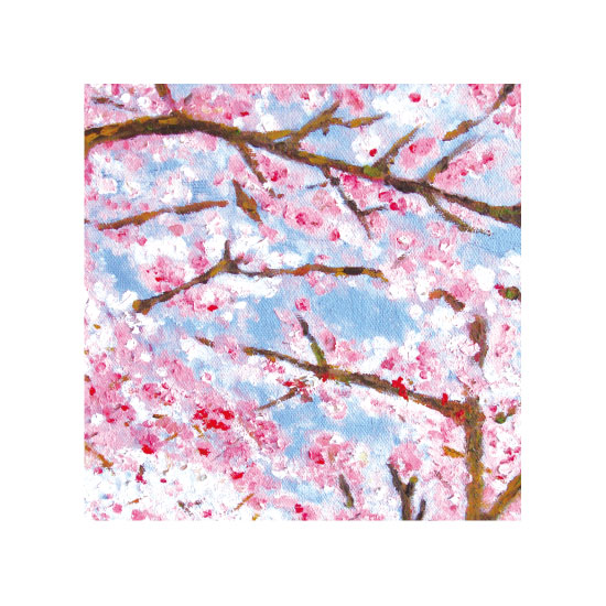 art prints - Cheery blossom by Becky Harold
