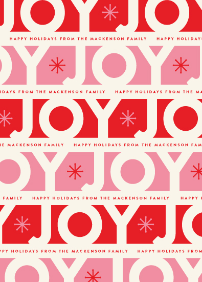 gift wrap - Jolly Joy by Carrie ONeal