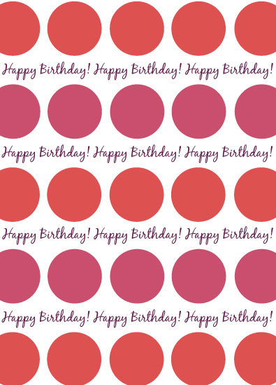 gift wrap - Colorful Dots by Allison Grice