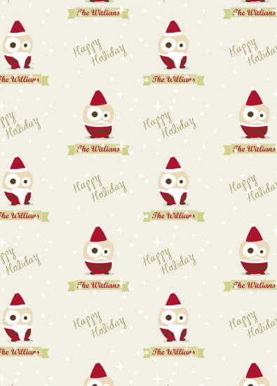 gift wrap - Santa Claus for Kids by Ligia Kuhn