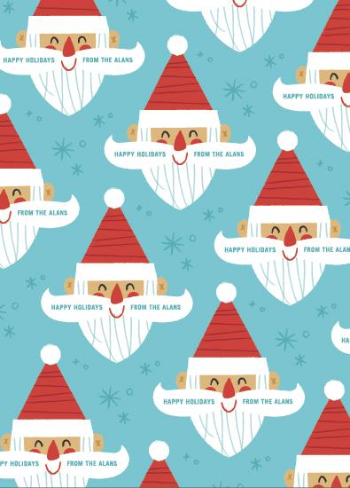 gift wrap - Simply Santa by Carmi Cioni