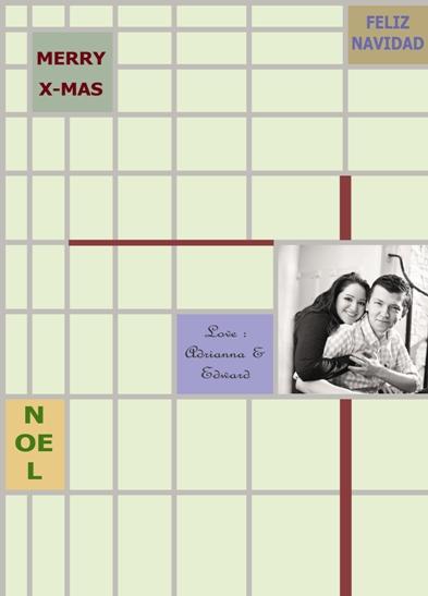 gift wrap - Grid Look by Jordan Arts