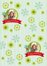Happy Holidays Circle by MK
