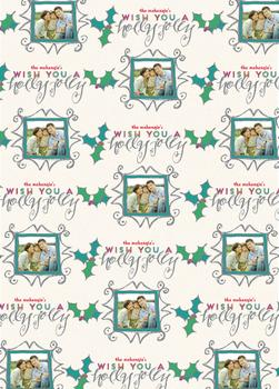 A Holly Jolly Gift Wrap