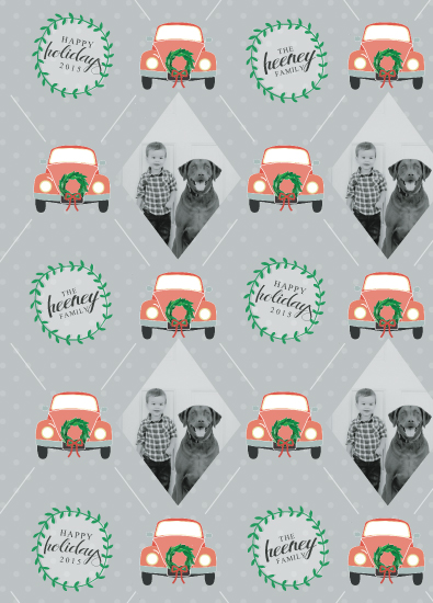 gift wrap - Love Bug by Heather Rae Designs