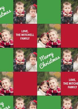 Checker Board Christmas