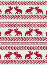 Moose Christmas by Leila Rookstool