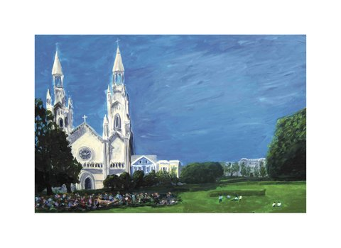 art prints - North Beach Festival by Sarah Maguire Duffy