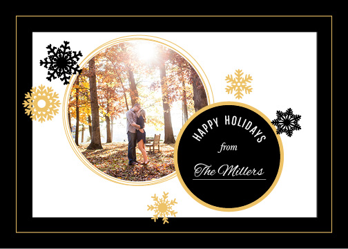 holiday photo cards - Circular Holiday Card by Alexandra Cook