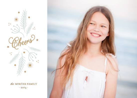 holiday photo cards - Holiday Cheer by Sarah Curry