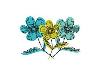 oodles of doodle flower