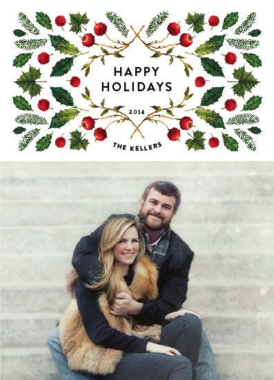 holiday photo cards - foliagedoscope by Aspacia Kusulas
