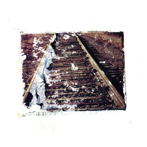 art prints - Train Tracks by Sheva Willoughby